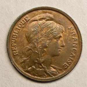 Monnaie française, Dupuis, 1 centime 1904
