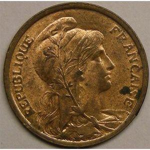Monnaie française, Dupuis, 1 centime 1920
