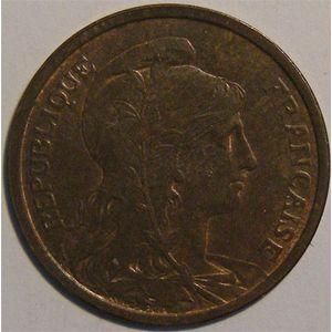 Monnaie française, Dupuis, 2 centimes 1903