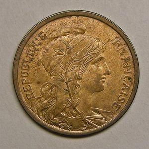 Monnaie française, Dupuis, 2 centimes, 1903