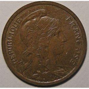 Monnaie Française, Dupuis, 2 centimes 1907