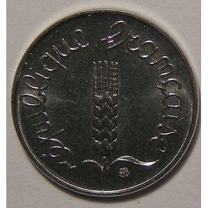 Monnaie française, Epi, 1 Centime 1982 SUP+, Gadoury: 91