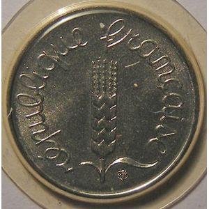 Monnaie française, Epi, 1 Centime 1984, FDC, Gad: 91