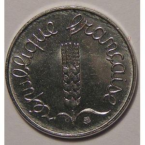 Monnaie française, Epi, 1 Centime 1989 SUP+, KM# 928
