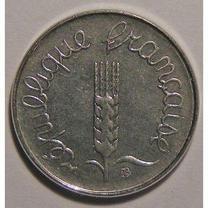 Monnaie française, Epi, 1 Centime 1989
