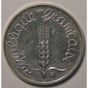 Monnaie française, Epi, Très rare 1 Centime 1991 Frappe monnaie, 2511 Ex, SUP+/SPL
