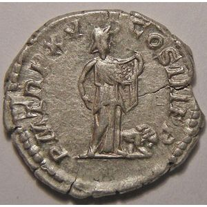 Monnaie romaine, empereur, Septime Sévère, Septimius Severus, Denier,  R/ P M TR P XV COS III P P