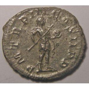Monnaie romaine, empire romain, Gordien III, Gordianus III, Antoninien, R/ P M TR P III COS II P P, 4.02 Grs, TTB/TTB+