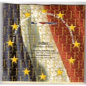 Monnaies Euros, France, Coffret BU 2000, Neuf