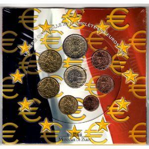 Monnaies Euros, France , Coffret BU 2004, Neuf