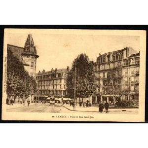 NANCY - Place et Rue St Jean