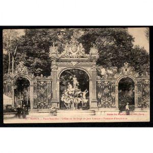 NANCY - Place Stanislas - Grille en Fer Forgé de Jean Lamour - Fontaine d'Amphitrite