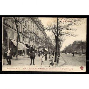 PARIS - Avenue des Gobelins, à la Hauteur du N°35