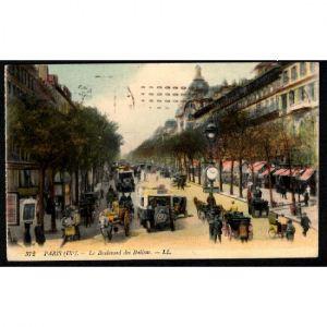 PARIS (IXe) - Le boulevard des Italiens - L.L.