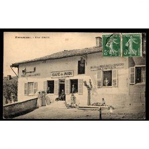PASSAVANT - Hôtel ROGER - Café du Midi - Remise et Ecurie pour Chevaux - Salle pour Noces, Bals et Banquets-140 Couverts