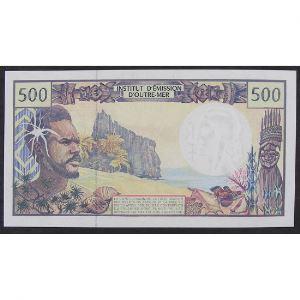 Polynésie Française, 500 Francs ND (1992), XF