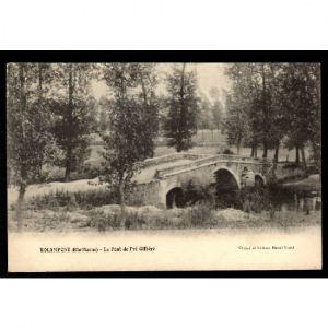 ROLAMPONT (Hte Marne) - Le Pont de Pré Gilbère