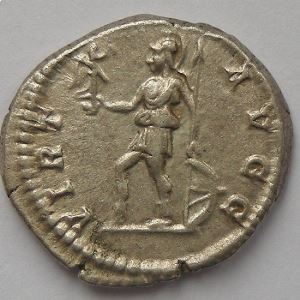 Septime Sévère, Septimius Severus, denier, VIRT AVGG, TTB+