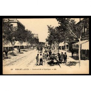 SIDI BEL ABBES - Boulevard de la République
