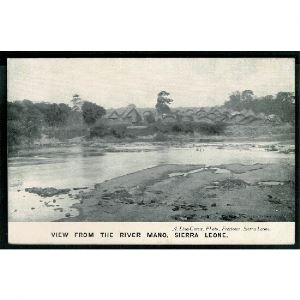 SIERRA LEONE - View From the River Mano - Afrique