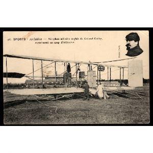 Sports - AVIATION - Aéroplane Militaire Anglais du Colonel Coddy, expérimenté au Camp d'Adershot