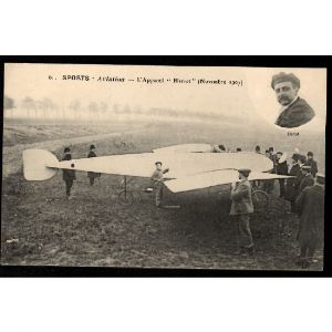 Sports - AVIATION - L'Appareil Blériot (Novembre 1907)