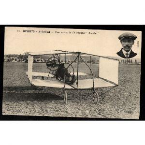 Sports - AVIATION - Vue Arrière de l'Aéroplane Kœklin