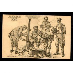ST SOUPLET 1915 - Soldat Kurzweg