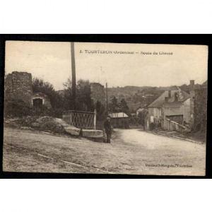 TOURTERON (Ardennes) - Routes du Chesne