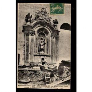 VERDUN - Les Ruines de la Grande Guerre - La Cathédrale - Autel de la Vierge
