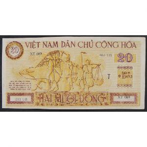 Viet-Nam , 20 Dong ND (1946), XF