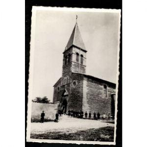 VILLENEUVE DE MARC (Isère) - L'Eglise