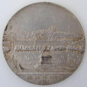 XXème Fête Fédérale de Gymnastique, Lyon 13.14.15 Août 1910, Penin Poncet, TTB+